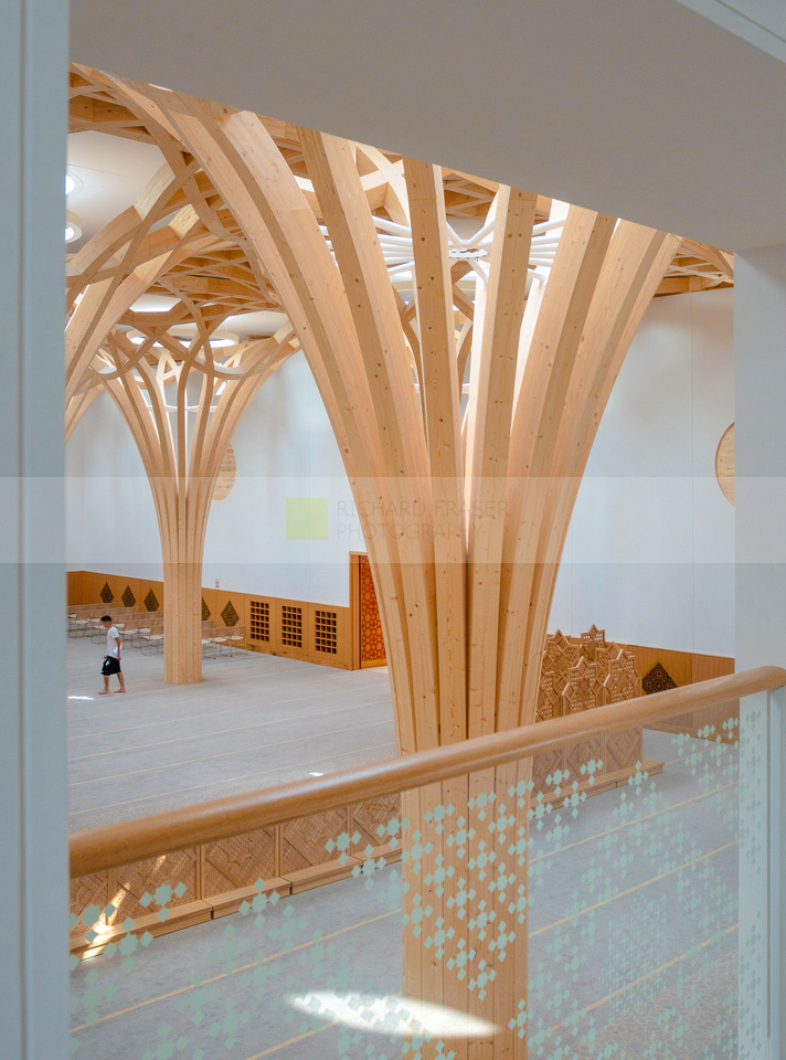 Cambridge Mosque by Marks Barfield Architects